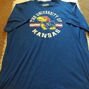 Other - XXL University of Kansas t-shirt